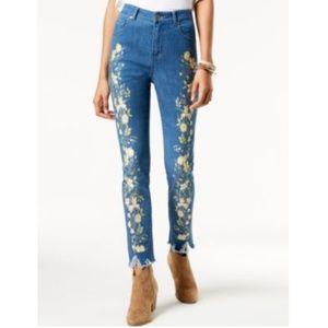 One Hart Juniors Skinny Jeans Catch Me Blue Sz 31